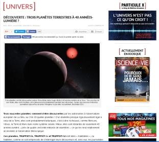 annonce trappist